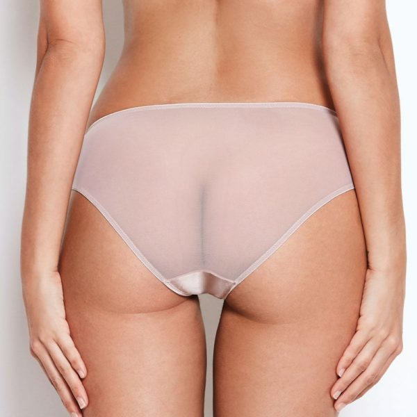 Abbie Pink Lace Knickers Back View