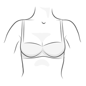 Balconette Bra Illustration