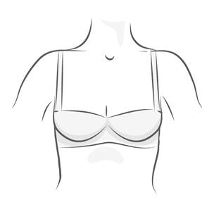 Half Cup Bra Illustration