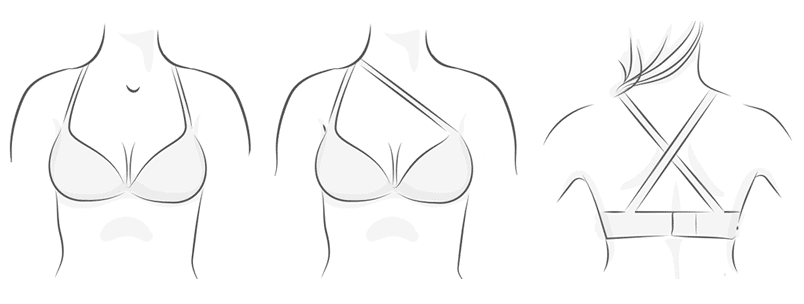 Multiway Bra Illustration