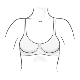 Wireless Bra Illustration