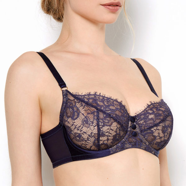 Abbie Purple Lace Bra