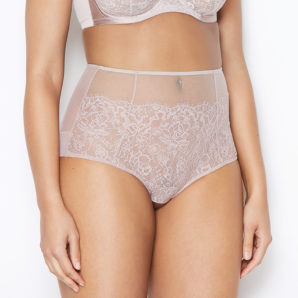 Abbie Vintage Rose High Waisted Knickers