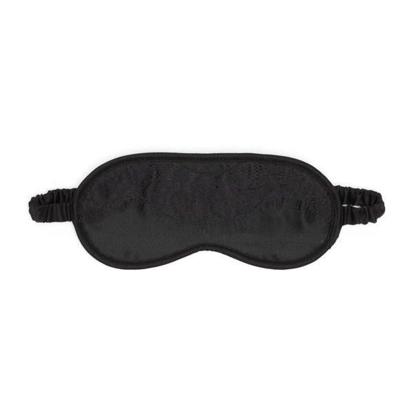 Ellianna Black Vintage Lace Eye Mask