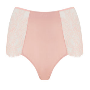 Ellianna Evening Sand Vintage Lace High Waisted Knickers
