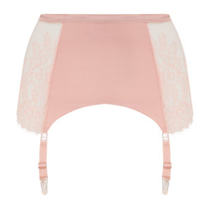 Ellianna Evening Sand Vintage Suspender Belt